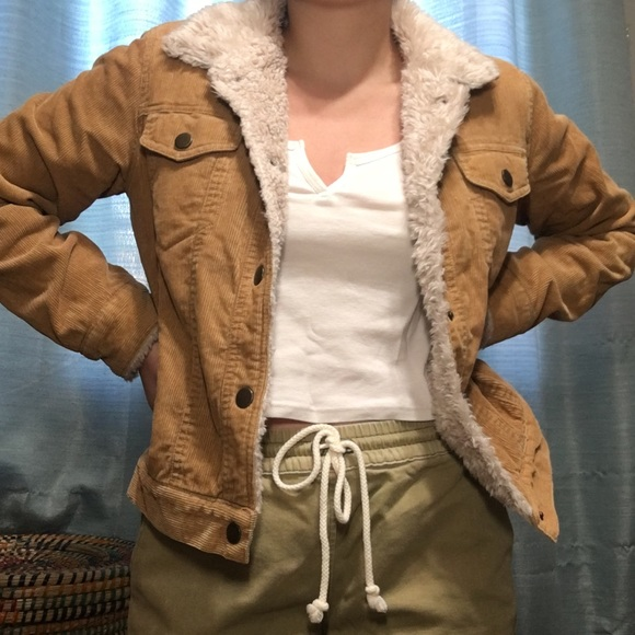 Khaki Corduroy Jacket